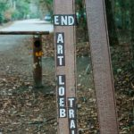 Art Loeb Trail End Sign