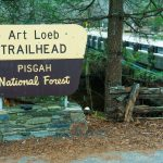 Art Loeb Trailhead Sign