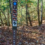 Starens Branch Trail Sign