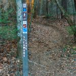 Sycamore Cove Trail Sign