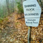 Shining Rock Wilderness Sign