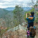 Overlook on the Lower Piney Trail
