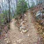 Rocky Switchback on the Lower Piney Trail