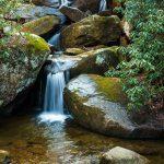 Cascades in Boulder Jumble Below High Shoals Falls