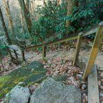 Steps to High Shoals Falls