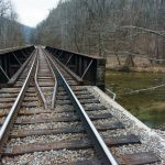 Rail Bridge over Big Laurel Creek