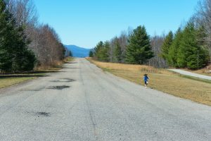 Running on the Airstrip Trail