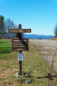Airstrip Trail Turn-Off