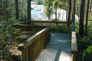 Platform Overlook at Bridal Veil Falls