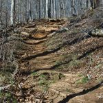 Steep Portion of Coontree Loop Trail