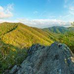 View from Hawkbill Rock