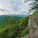 View from the Kitsuma Peak Overlook
