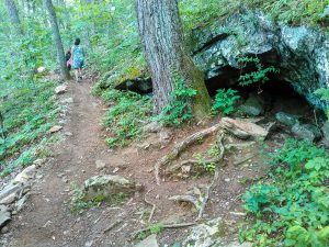 Small Cave Beside the Trail