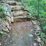 Rock Steps on the Mountains to Sea Trail