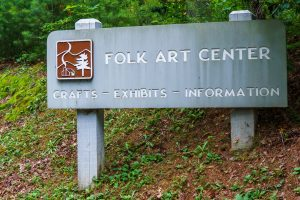 Folk Art Center Sign