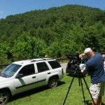 Eclipse Viewing at Santeetlah Gap on the Cherohala Skyway