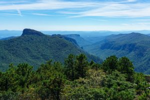 View of the Southern Linville Gorge from Hawksbill