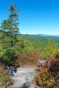 View from Hawksbill Trail in Early Autumn
