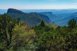 View of Table Rock and the Gorge