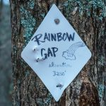 Rainbow Gap Sign