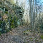 Rock Overhang on the Staire Creek Trail