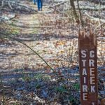 Start of the Staire Creek Trail on FS 74