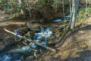 Crossing of Walker Creek