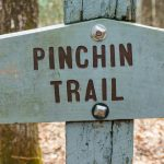 Pinch-In Trail Sign