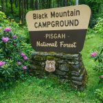 Black Mountain Campground Sign