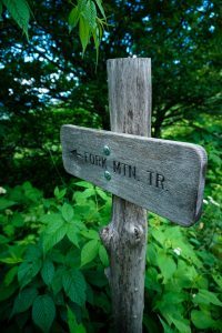 Fork Mountain Trail Sign