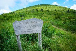 Shining Rock Wilderness Boundary