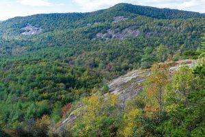 View of Blackrock Mountain