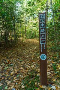 Macs Gap Trail Sign