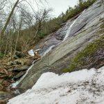 Ice Below Little Bearwallow Falls