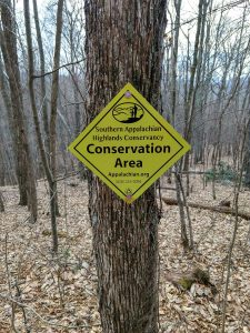 SAHC Conservation Area Sign