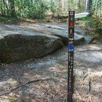 Rock Slab at Cat Gap and Butter Gap