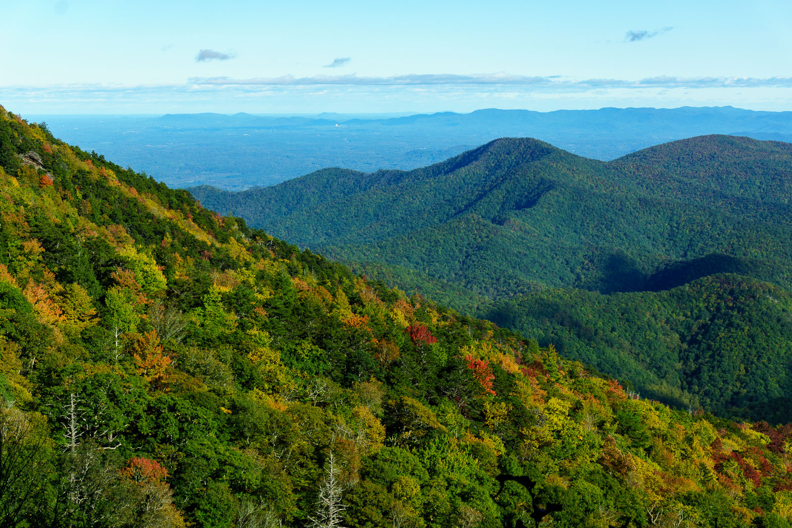 View Northeast from the Blue Ridge – WNCOutdoors.info