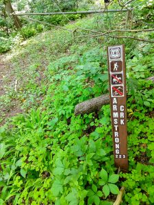 Armstrong Creek Trail Sign