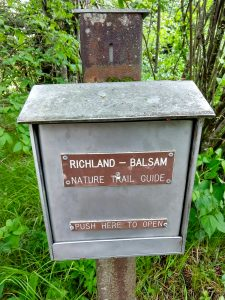Guides for the Richland Balsam Trail