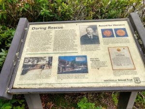 Educational Signs on the Whiteside Mountain Trail