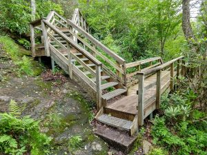 Stair Structure on the Whiteside Mountain Trail