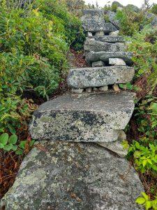 Rock Steps on Firescald Knob