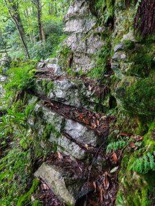 Rock Outcrop on the Appalachian Trail