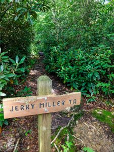 Jerry Miller Trail Sign
