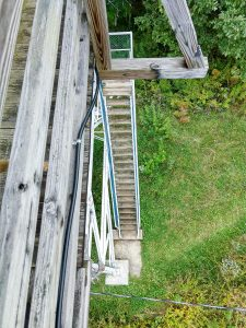 Steps Leading Up the Cowee Bald Fire Tower