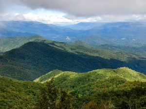 View East from Cowee Bald Fire Tower