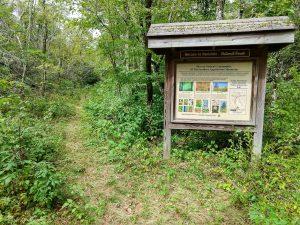 Sign for the Walton Interpretive Trail