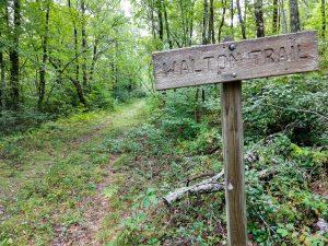 Walton Interpretive Trail Sign