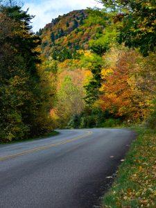 View at Heartbreak Ridge Trail Junction