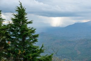 Approaching Storm on Bald Knob